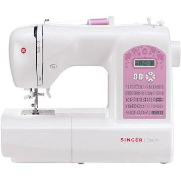 SINGER 6699 Starlet 100-Stitch Computerized Sewing Machine with Extension Table and Hard-Sided Cover