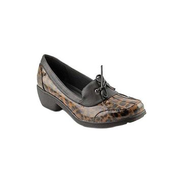 Wanderlust Womens Weather or Not Square Toe Mules