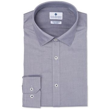 Ryan Seacrest Distinction Mens Slim-Fit Button Up Dress Shirt