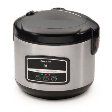 Presto 16-Cup Digital Rice Cooker/Steamer