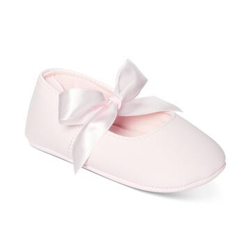 Baby Girls Ribbon Ballerina Flat, Created for Macy's
