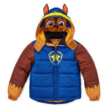 Boys Outerwear - Boys Paw Patrol Hooded Heavyweight Puffer Jacket-Preschool