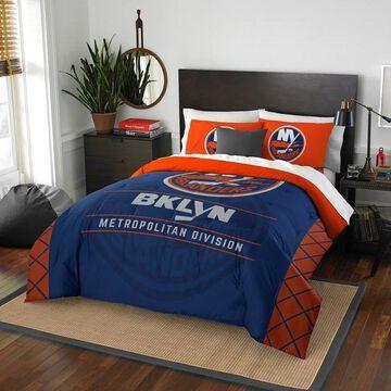 New York Islanders Draft Full/Queen Comforter Set by Northwest