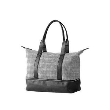 Cathy's Concepts Personalized Glen Plaid Luggage Tote -