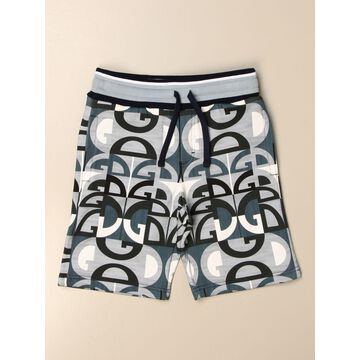 Dolce Gabbana jogging shorts with all-over DG logo