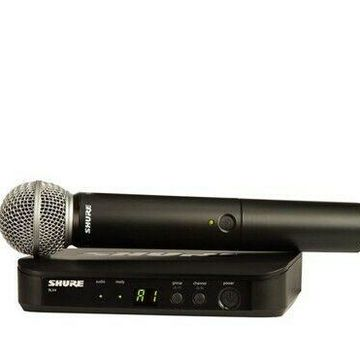 Shure BLX24/SM58 Single Channel Handheld Wireless System (J10 Band)