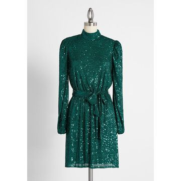Emerald Dynasty Mini Dress