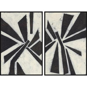 Marmont Hill - Handmade Pinwheel Diptych