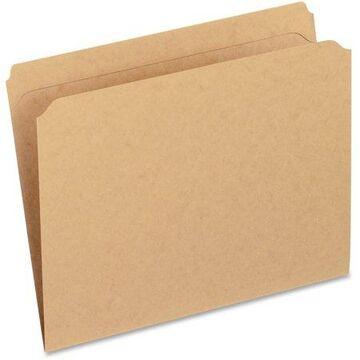 Pendaflex, PFXRK152, Reinforced Top Tab Kraft File Folders, 100 / Box, Kraft