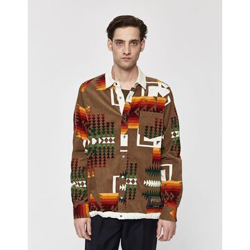 Pendleton Print Shirt Jacket