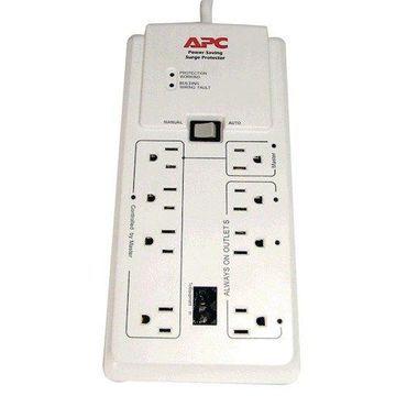APC Apc 8-outlet Energy-saving Surge Protector