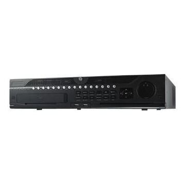 HIKvision DS-9632NI-I8-12TB DS-9600 Series DS-9632NI-I8 - NVR - 32 channels 12 TB - networked - 2U - rack-mountable