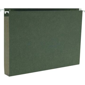 Smead, SMD64339, Hanging Box Bottom Expanding File Folders, 25 / Box, Standard Green