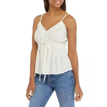 American Rag Women's Mixed Lace Camisole -