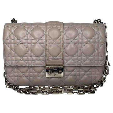 Dior Miss Dior Pink Leather Handbags