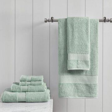 Home Essence Organic 6 Piece 100 Percent Cotton Towel Set