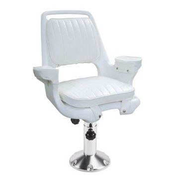Wise 8WD1007-7-710 Captain's Chair with Adjustable Pedestal