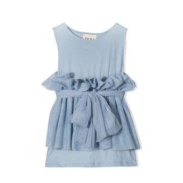 Douuod Blue Cotton Top