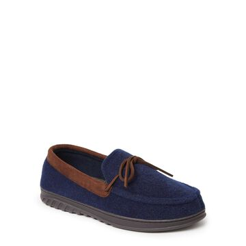 Dearfoams Cozy Comfort Berber Moccasin Slipper (Mens)