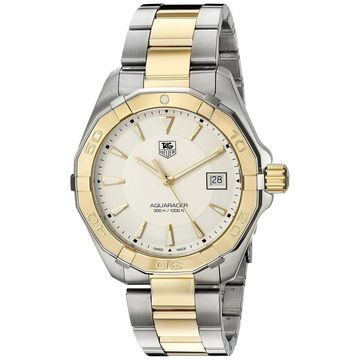 Tag Heuer Men's WAY1120.BB0930 'Aquaracer' Two-Tone Stainless Steel Watch