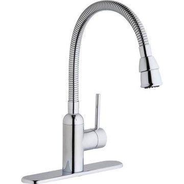 Elkay Pursuit Laundry Faucet with Flexible Spout Chrome