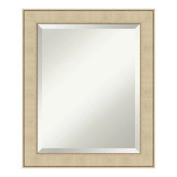 Amanti Art Classic Honey Framed Bathroom Vanity Wall Mirror