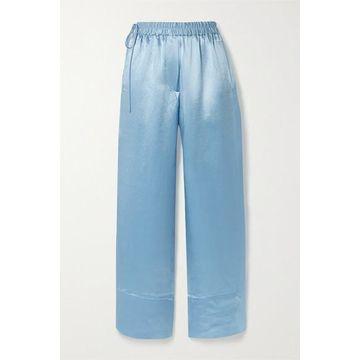 Acne Studios - Charmeuse Wide-leg Pants - Sky blue