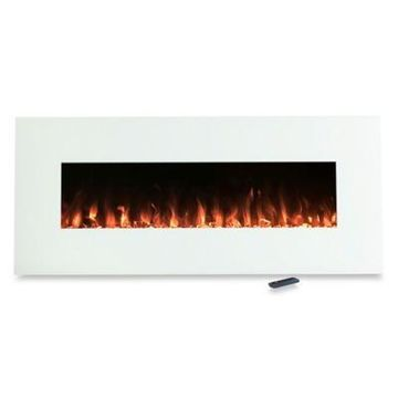 Northwest Color-Changing Electric Fireplace Heater in White