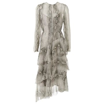 Zimmermann Grey Silk Dresses