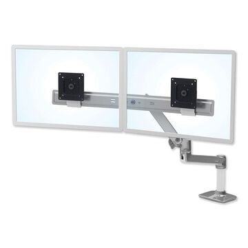 Ergotron LX Dual Direct Monitor Arm for Monitors up to 25