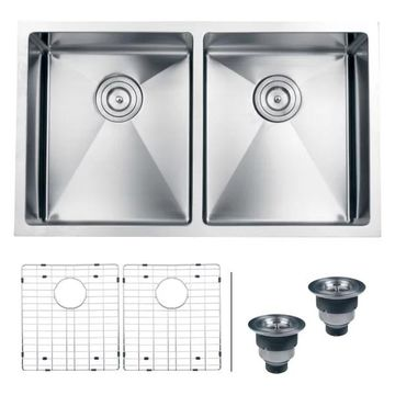 Ruvati RVH7401 Undermount Stainless Steel 32