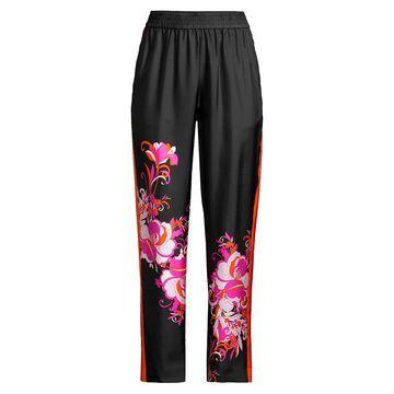 Kobi Halperin Dani Floral-Print Silk Pant