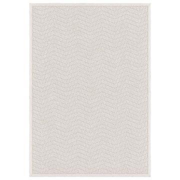Orian Boucle Indoor/Outdoor Renton High-Low Area Rug, Ivory, 7'9