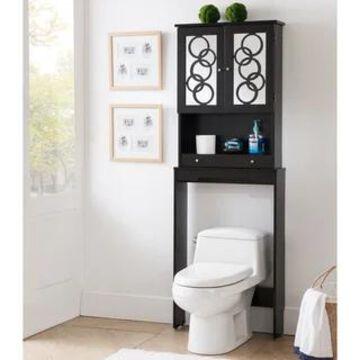 Furniture of America Nen Contemporary 3-shelf Space Saver Cabinet (Cappuccino)