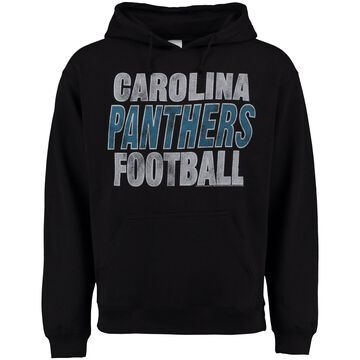 Carolina Panthers Junk Food Kickoff Pullover Hoodie - Black