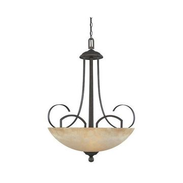 Designers Fountain 80231-ORB 3 Light Pendant Caledonia Collection