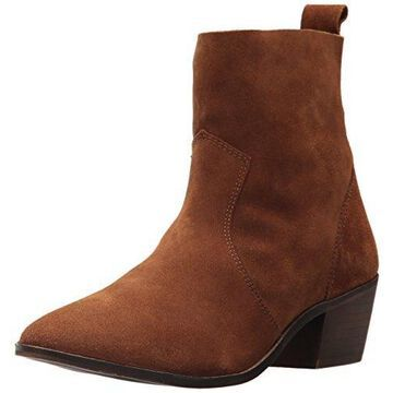 Report Women's Iesha Ankle Bootie, tan, 7.5 M US