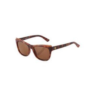 Tortoiseshell Cat-Eye Plastic Sunglasses