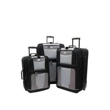 Geoffrey Beene Carnegie 3 Piece Luggage Set -
