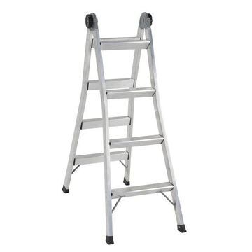 1005269 12 ft. x 20.28 in. 300 lbs 1A Aluminum 2-in-1 Step Ladder
