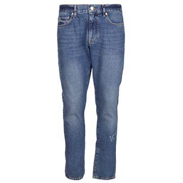 Iceberg Mid Rise Skinny Jeans