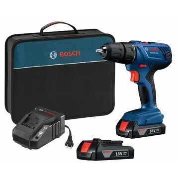 Bosch 18-Volt 1/2-in Cordless Drill (Charger Included and 2-Batteries Included)