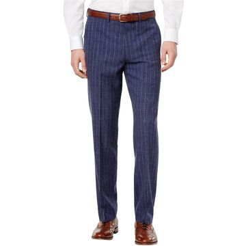 Ryan Seacrest Distinction Mens Chalk Stripe Dress Slacks