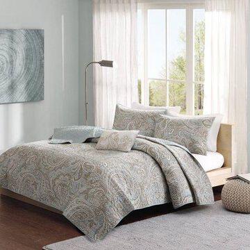 Home Essence Dierdre 4 Piece Cotton Coverlet Set