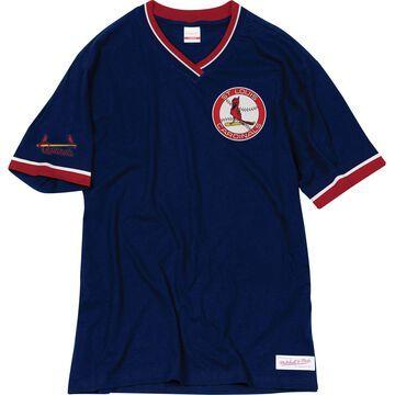Mitchell & Ness Men's Boston Red Sox V-Neck Shirt