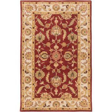 Artistic Weavers Oxford Isabelle 4-Foot x 6-Foot Rug in Red