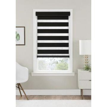 Achim Cordless Celestial Room Darkening Double Layered Shade Blind -