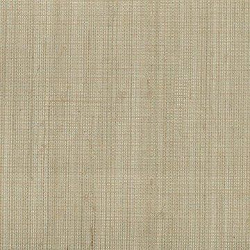 Kenneth James Ruslan Grey Grasscloth Wallpaper