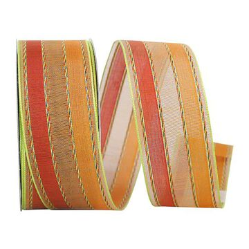 """JAM Paper 1.5"""" Wired Fall Stripe Ribbon   Michaels"""