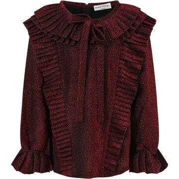 Sonia Rykiel Red T-shirt For Girl With Bow